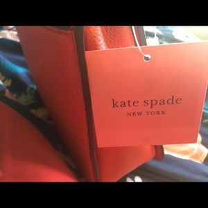 Kate spade Margaux in chili red NWT